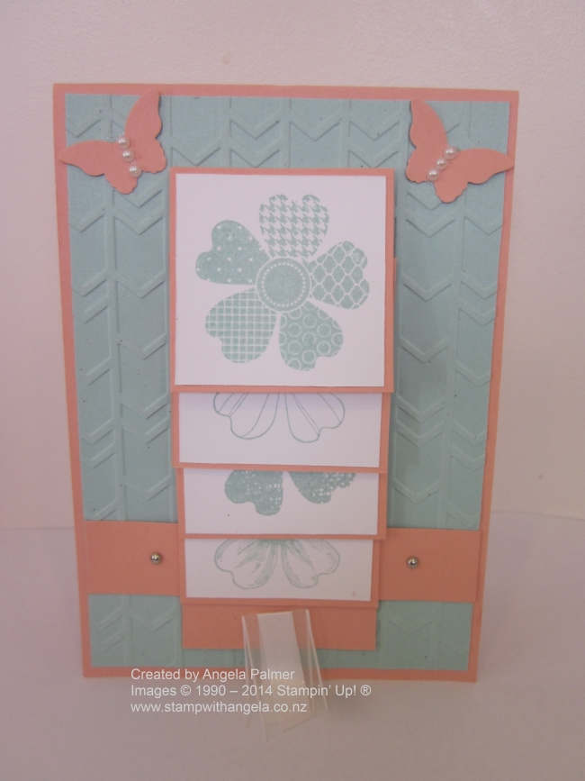 Flower shop Waterfall Card