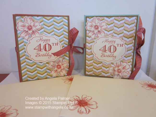 IMG_5470 40th Birthday Cards front of two lots of room to write
