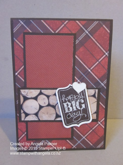 Adventure Bound Quick and Easy Masculine card