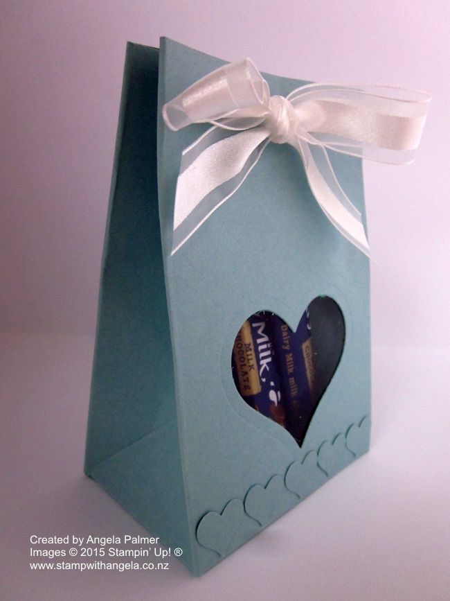 Gift Bag Punch Bag Heart Window