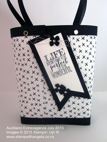 Tiffany Gift Bag Extravaganza bag back view