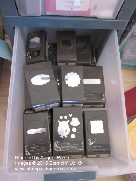 Storing Punches, sTampin' up, punches, storing