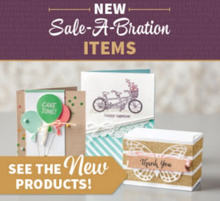 Sale-a-bration New products release