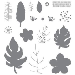 Botanical Blooms stamp set 140757