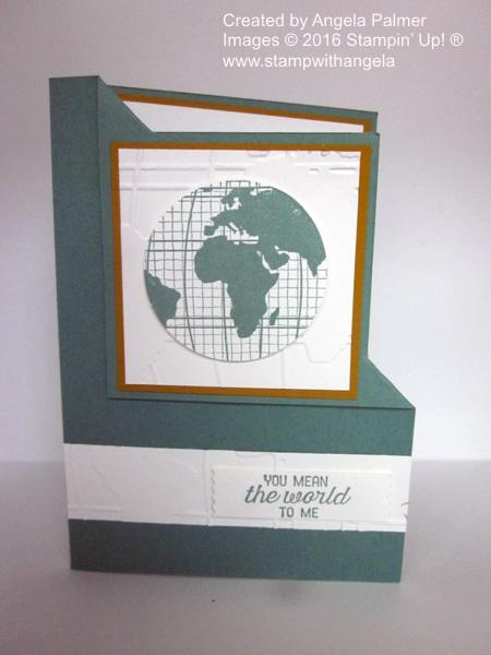 Going Global, Corner Fold Card