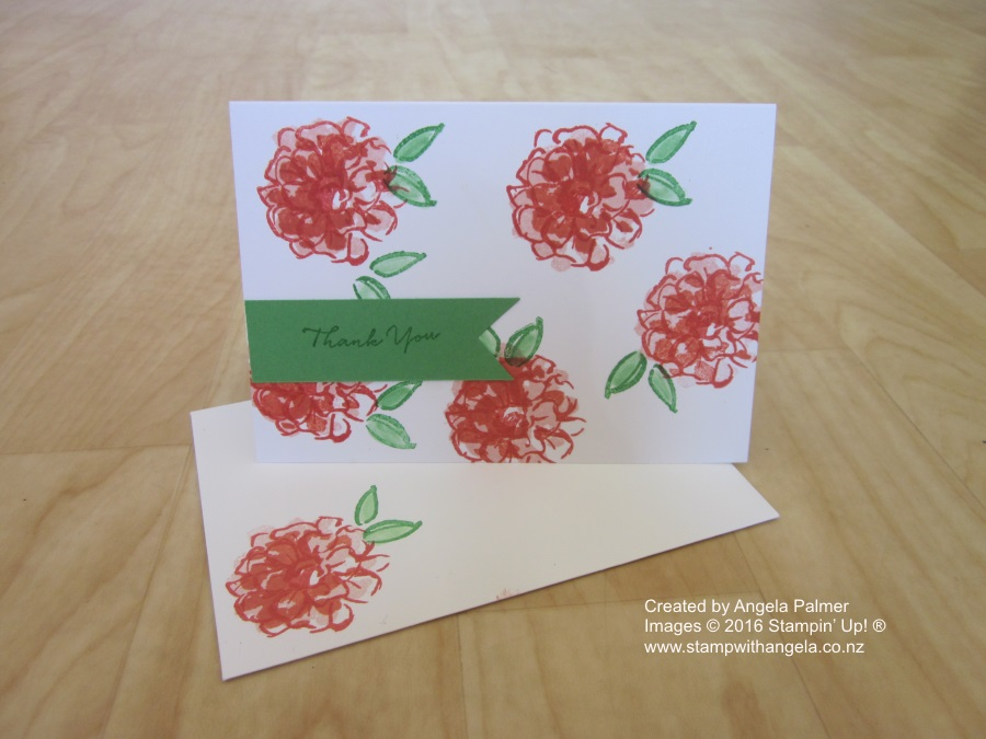 What I Love, sale-a-bration, flowers, two-set stamping, pink, orange, red
