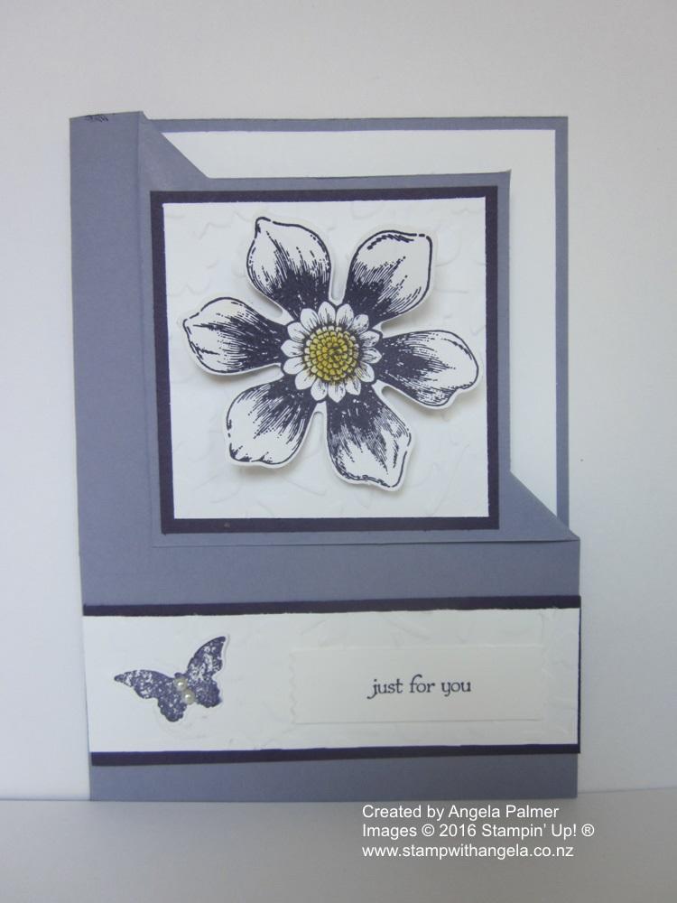 Blossom Bunch Corner Fold Card