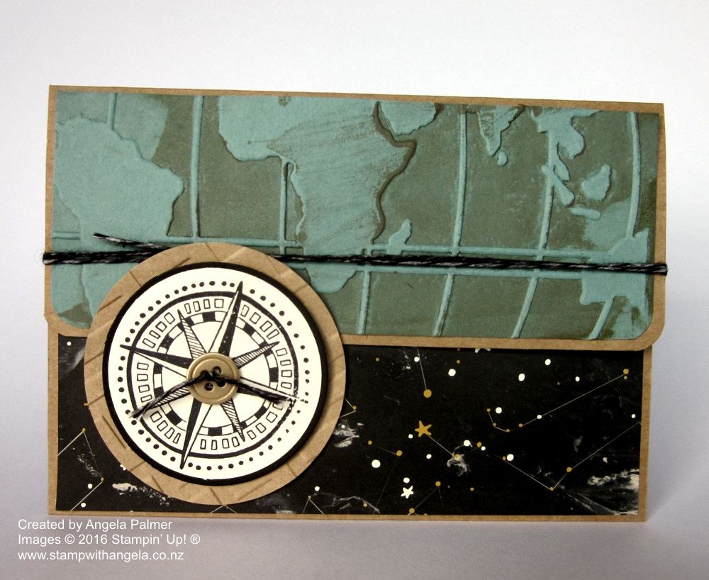 Going Global Masculine Wallet Card