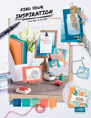 2016 Stampin' Up Annual Catalogue