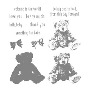 Baby Bear Stampin' Up Stamp Set 141859