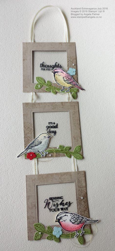 Best Birds Hanging Frame