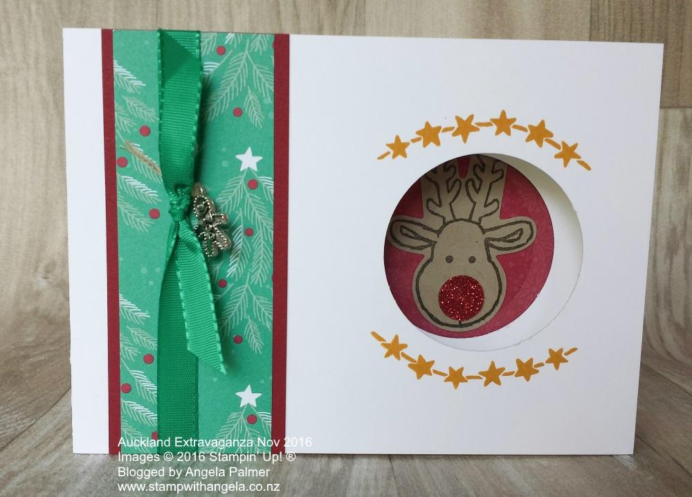 Extravaganza, Cookie Cutter, Peek a Boo Card, Unique fold