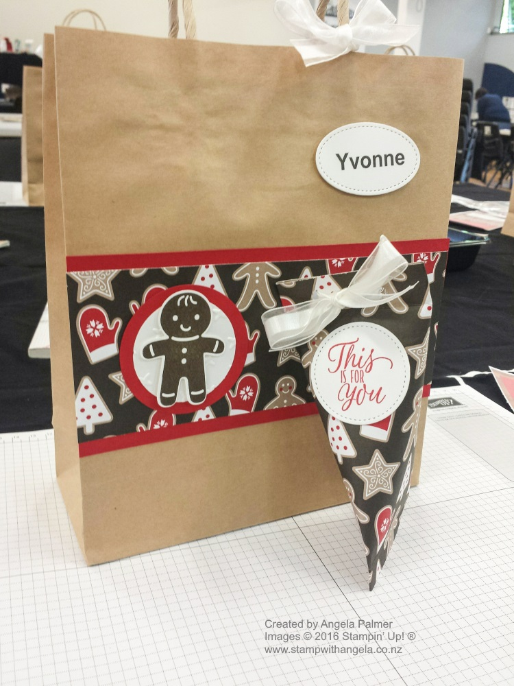 Decorated Guest Bag & Gift