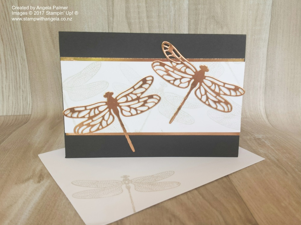 Copper Dragonfly with Basic Black