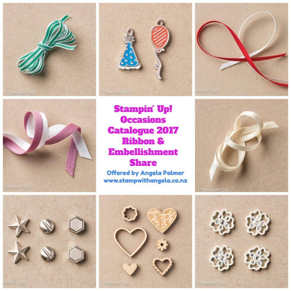 shares, Ribbon & Embellishment Shares