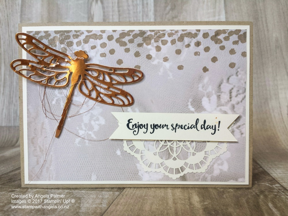 Dragonfly Tunnel Card Front