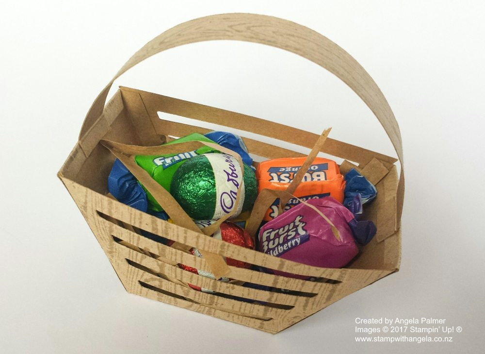 Easter Basket - top view