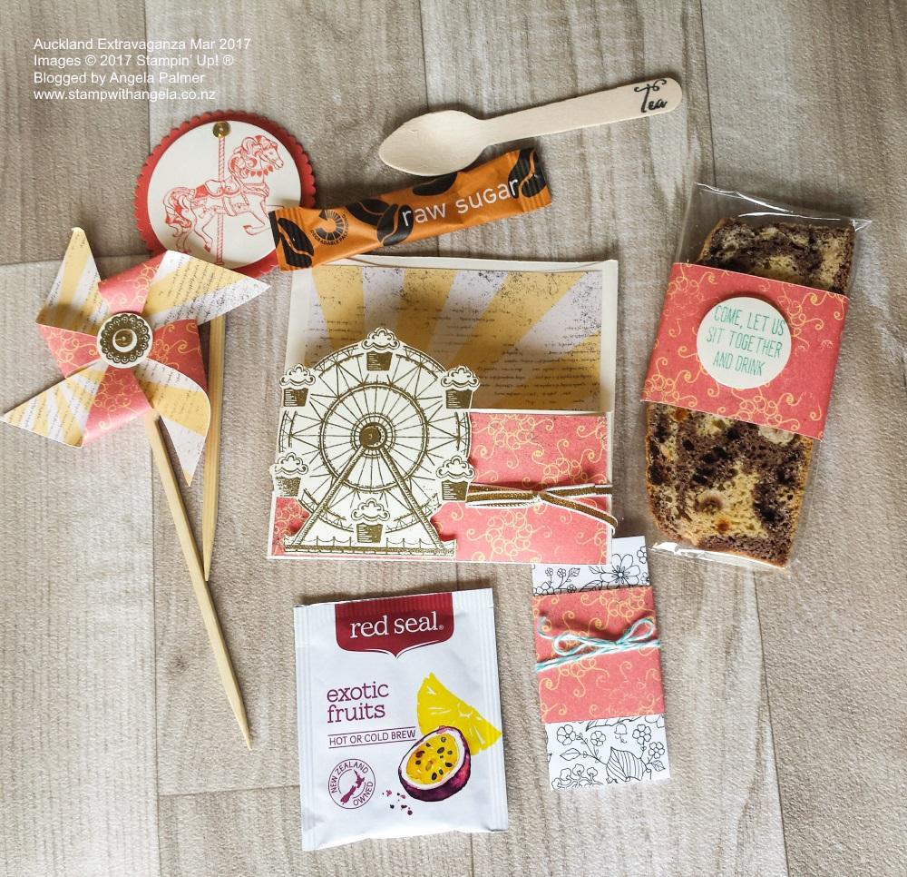 March Auckland Extravaganza Pocket Envelope goodies