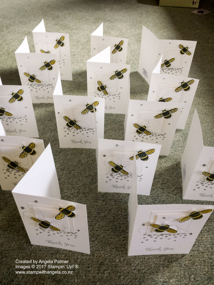 Dragonfly Dreams Bee Thank You Note Cards