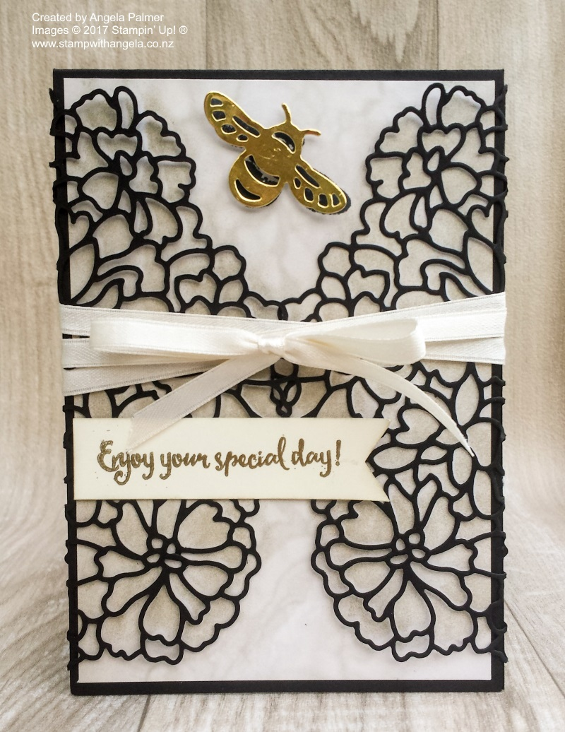 So Detailed Gate Fold Card