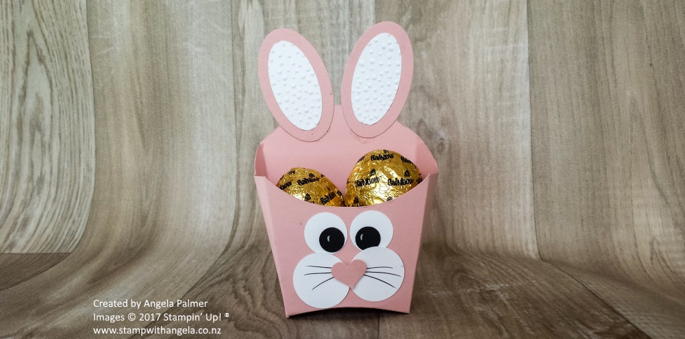 Easter rabbit box