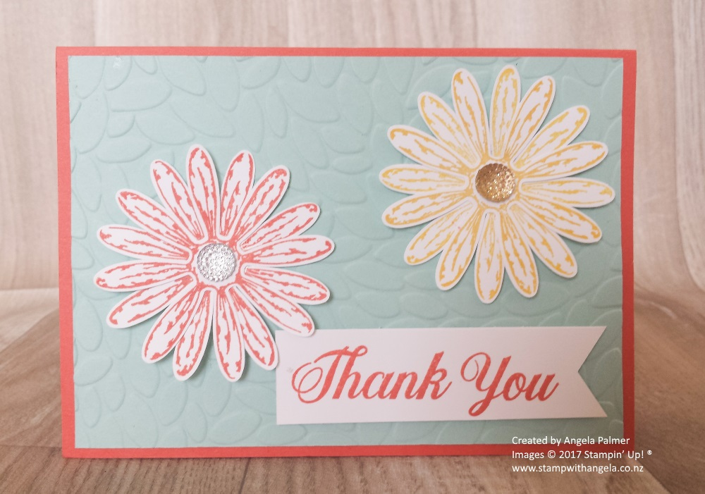 Daisy Punch For Two Daisy Flowers Card