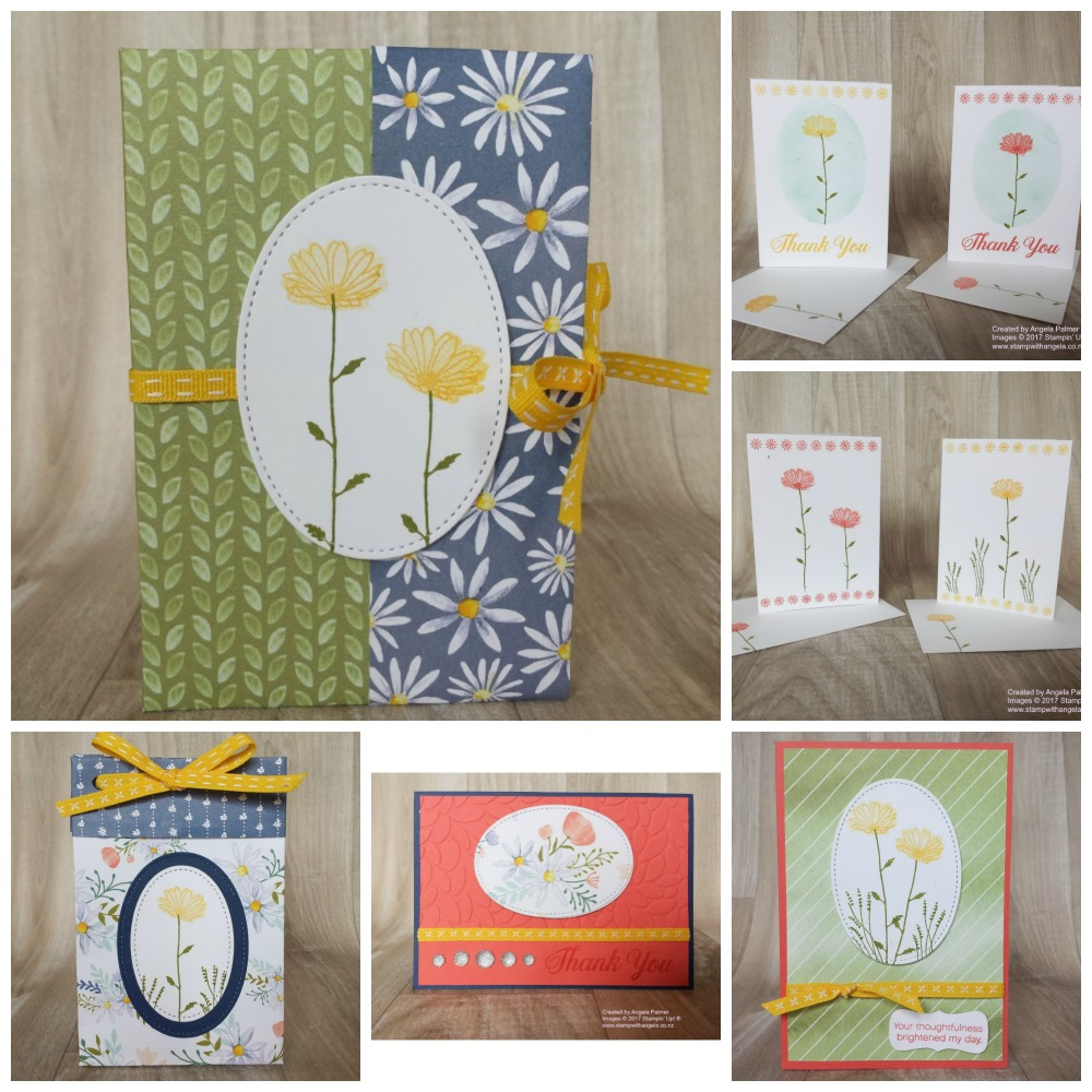 Two-Step Stamping with Daisy Delight