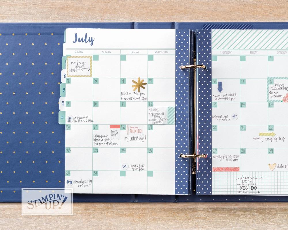 Love Today Planner Kit Calendar