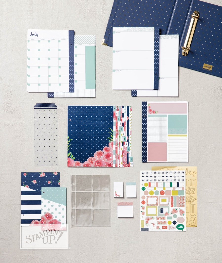 Love Today Planner Kit Contents