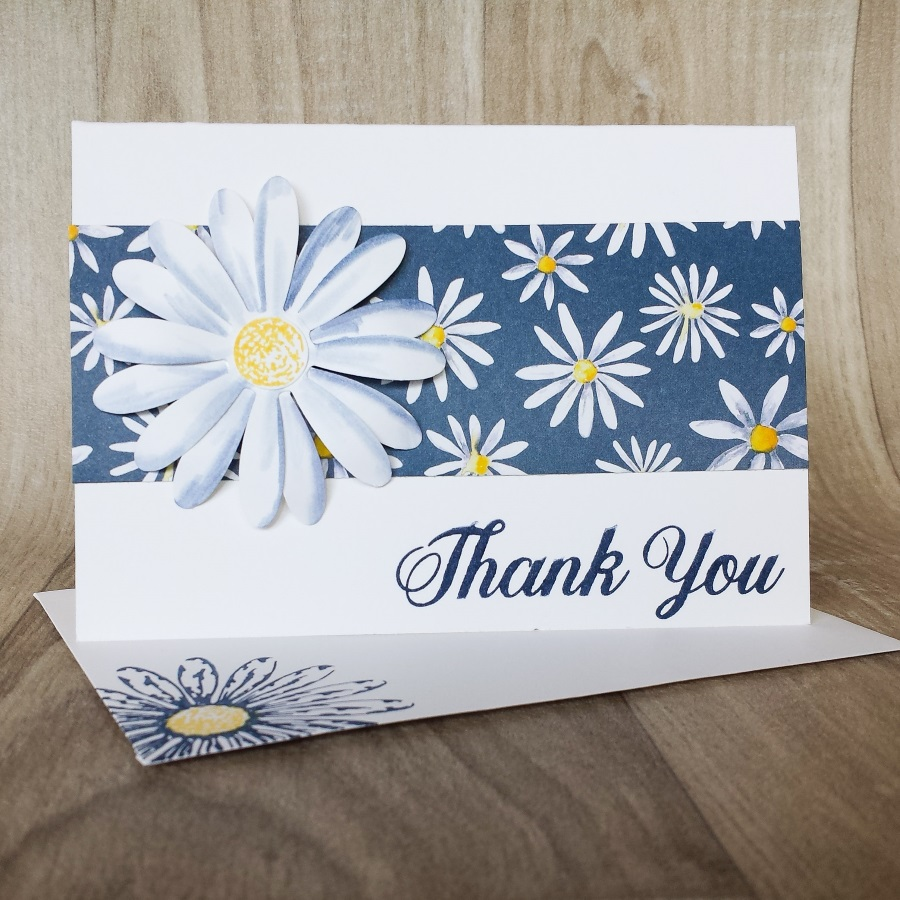 Blender pen white daisies, delightful daisy thank you