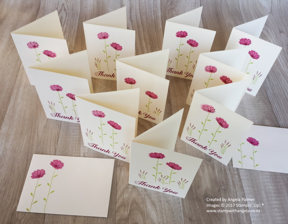 Daisy Delight Thank You In Color Note Cards For Customers
