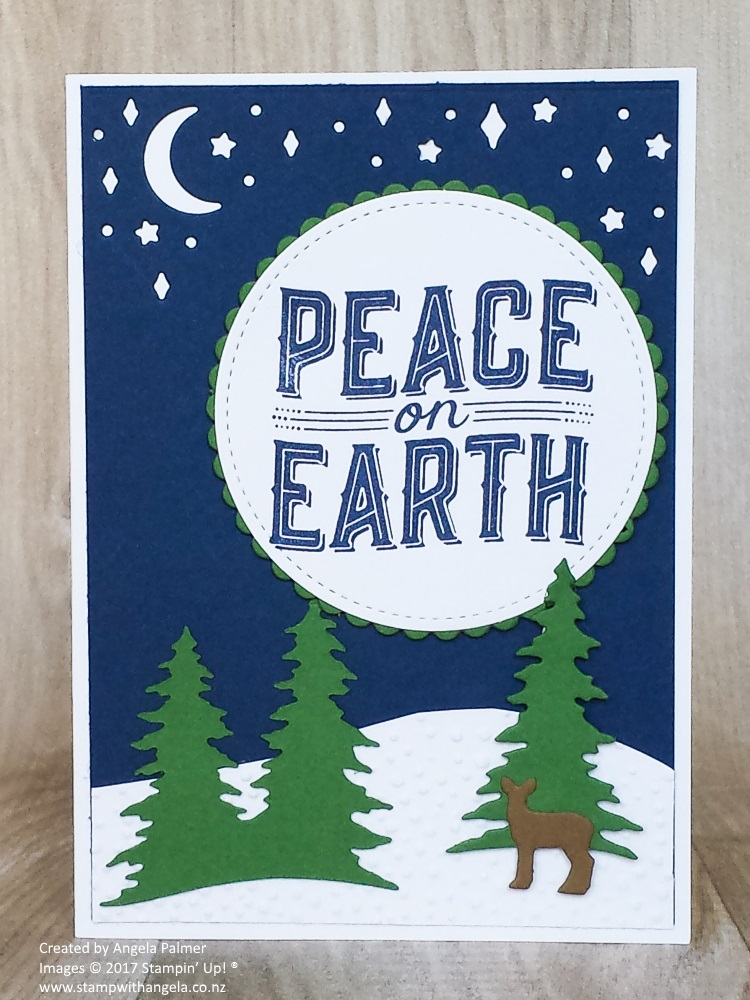 Carols of Christmas Peace on Earth Simple Card