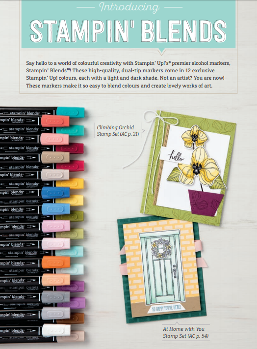Stampin' Blends Colour Range