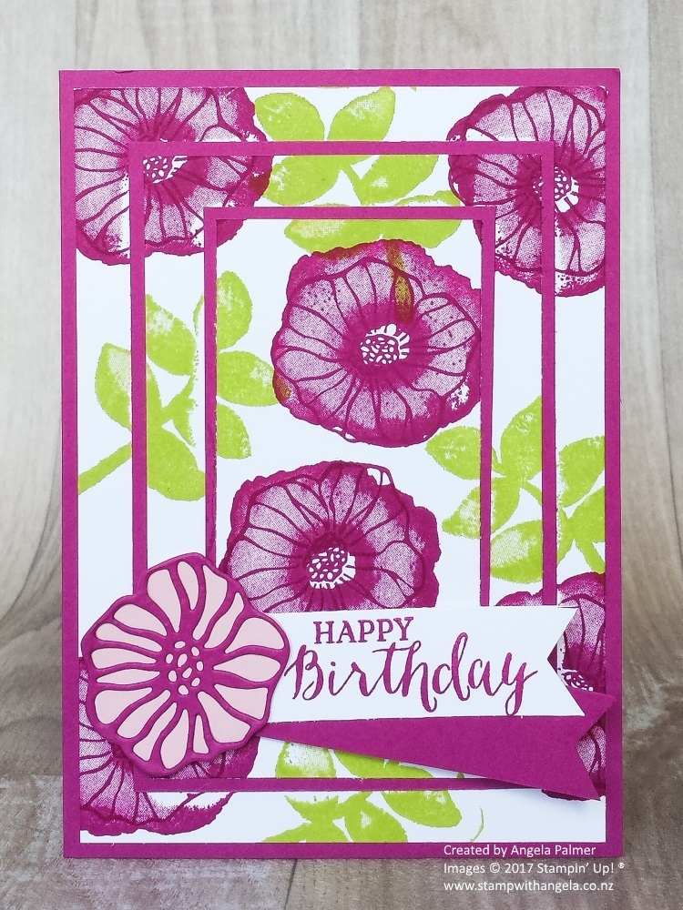 triple time stamping, world card making day