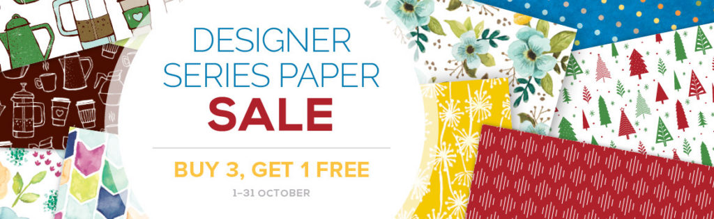 October, Designer Series Paper Sale