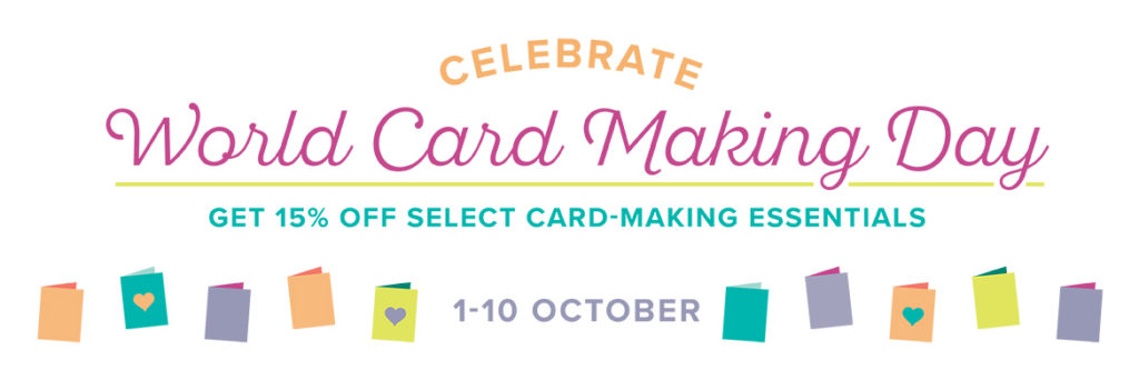 October Promotion, World Card Making Day