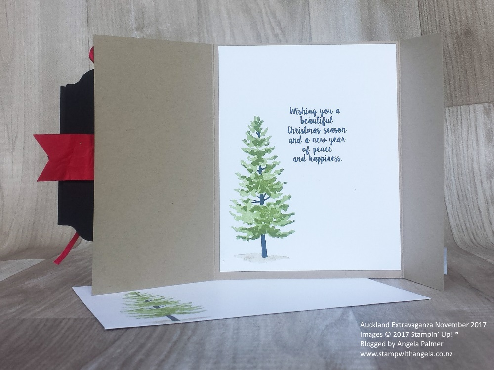 Season Like Christmas gate fold card inside