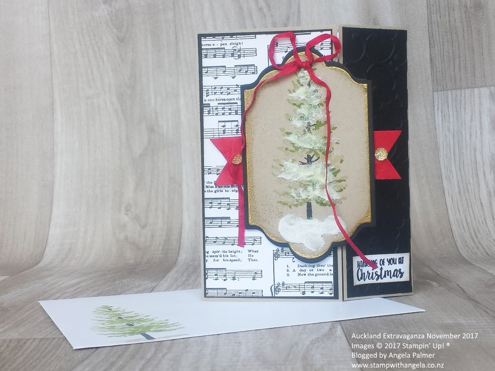 Season Like Christmas gate fold card