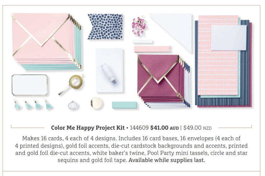 Colour Me Happy Project Kit