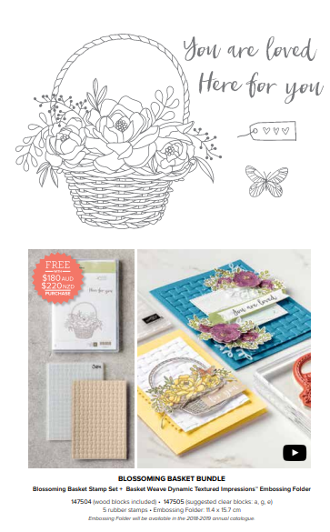 Sale-A-Bration Second Release Blooming Basket Bundle