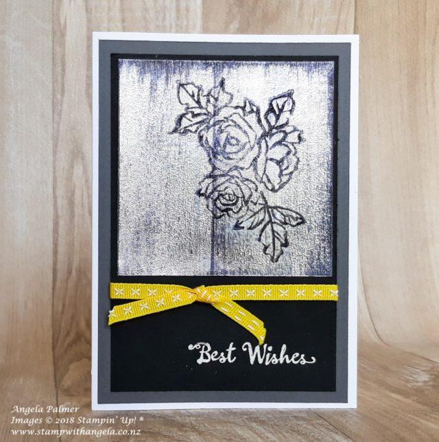 Black Ice Technique - Petals Palette