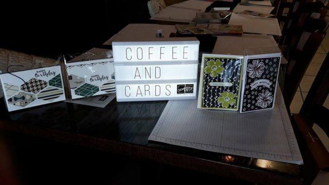 coffee cards, Vero Cafe