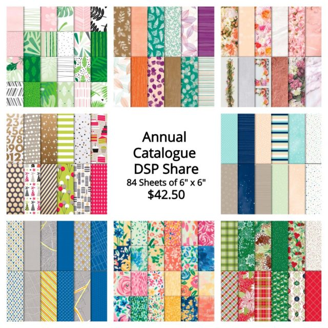 Annual Catalogue Share, Designer Series Paper
