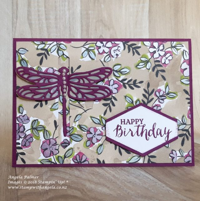 Dragonfly interactive card, favourite cards