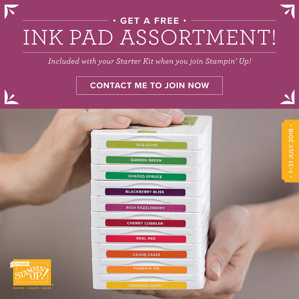 ink pad assortment offer