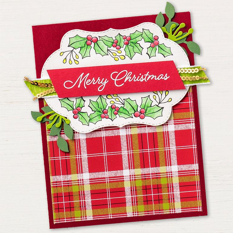 Colour Your Season Merry Christmas