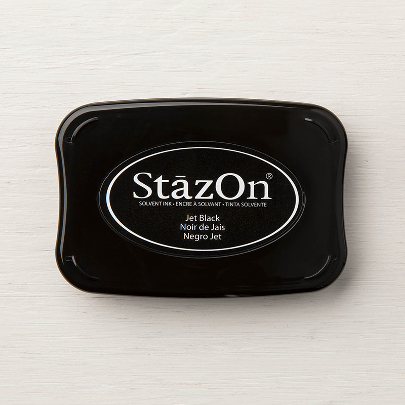 StazOn Jet Black Ink