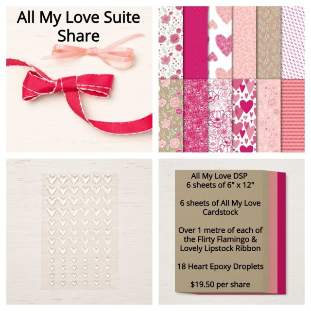 All My Love Suite Share 2019