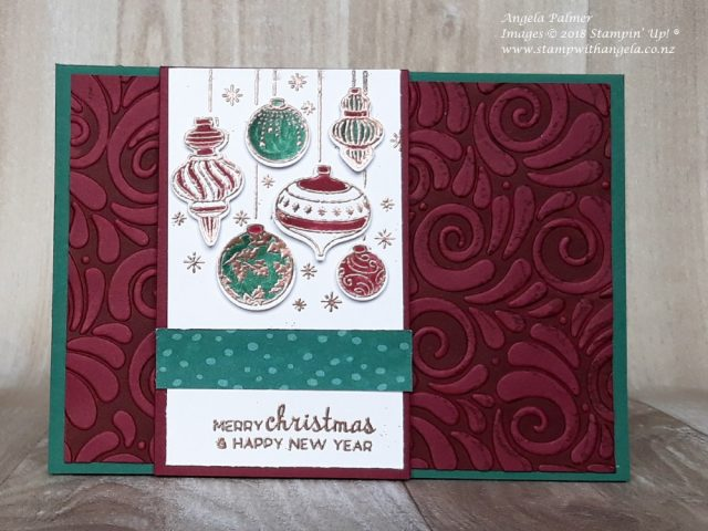 favourite cards, baubles card