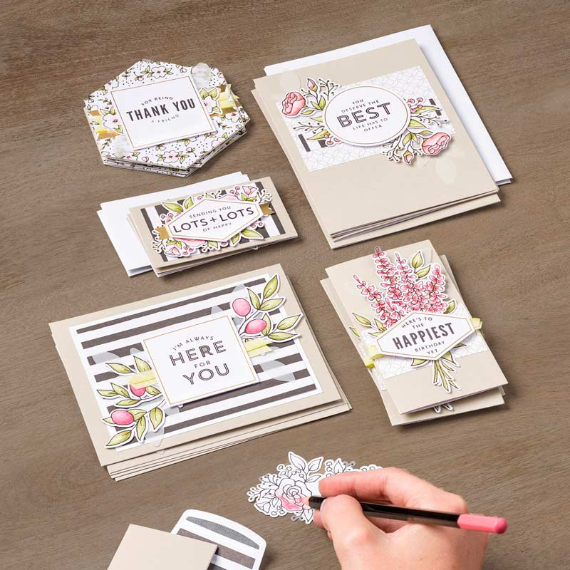 Lots of Happy Card Kit, card making